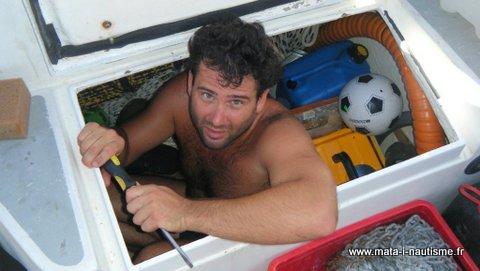 Bricolage à bord du voilier