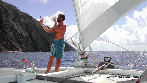 chef de bord aux antilles