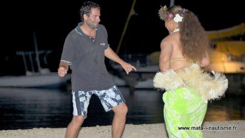 Danse Tahitienne à Tahaa