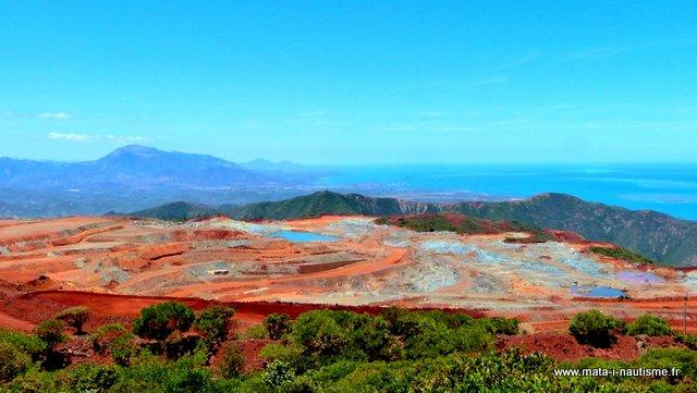 La mine de la SLN - Nouvelle Calédonie
