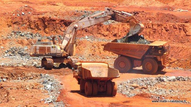 mine de la SLN - Nord Nouvelle Calédonie