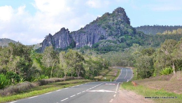 Route du nord de la Nouvelle Calédonie