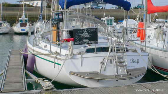 Achat de notre voilier Gin Fizz - Port du Crouesty