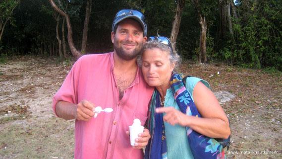 Pat et Isa en Guadeloupe