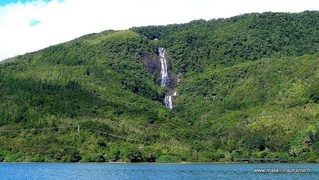 Chute d'eau de Tao - Nouvelle Calédonie