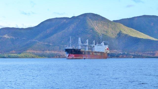 Transport de minerai Nouvelle Calédonie