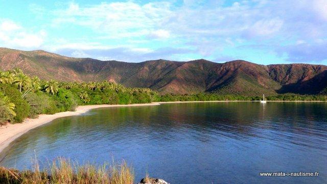 Mouillage du nord de la Nouvelle Calédonie
