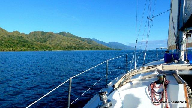Balade en voilier en Nouvelle Calédonie