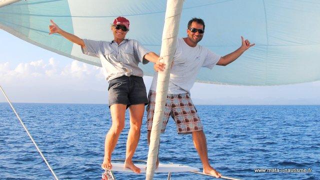 Pat et Isa Mata'i Nautisme