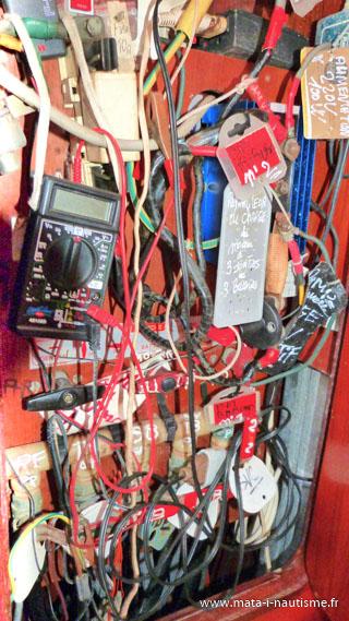 Circuit électrique voilier