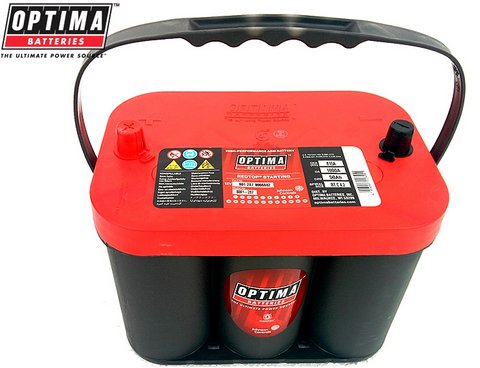 Batterie Spirale Optima Red Top