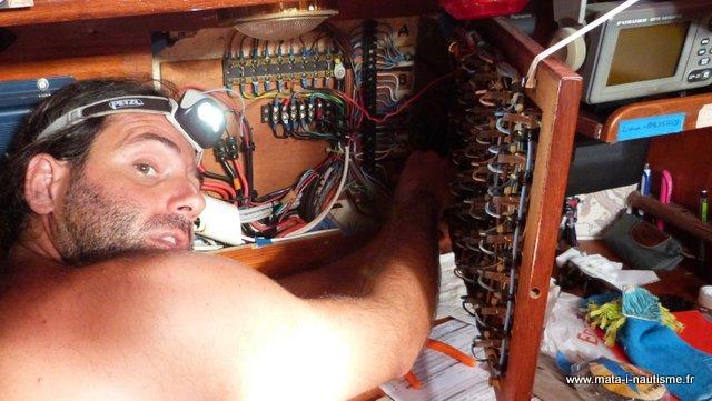 L'électricité à bord d'un voilier