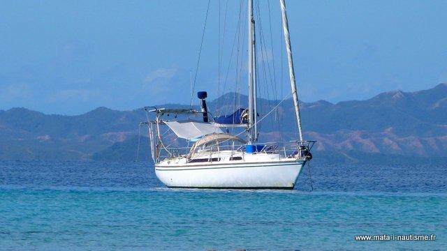 Mouillage voilier FIDJI en Nouvelle Calédonie