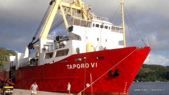 Bateau Taporo Polynésie