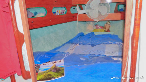 D couper et installer des bons matelas bord de son voilier - Mousse matelas a decouper ...