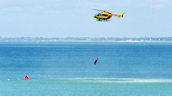 secours en mer hélicoptère dragon