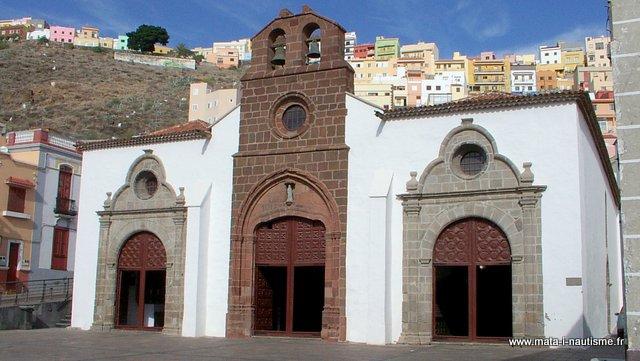 Eglise san sebastian de la Gomera
