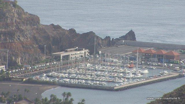 Marina de San Sebastian de la Gomera