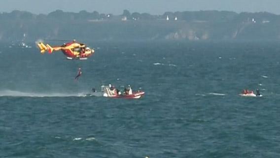 Sauvetage en mer hélicoptère dragon