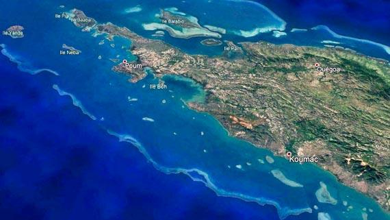 Lagon nord de Nouvelle Calédonie
