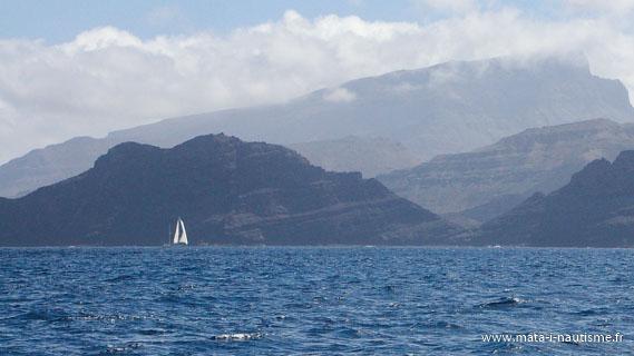 Arrivée au Cap Vert