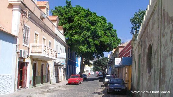 Les rues de Mindelo - Cap Vert