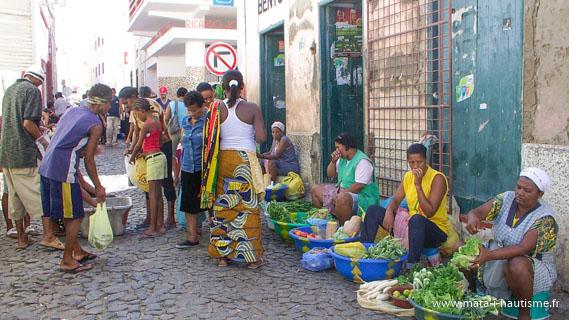 Dans les rues de Mindelo