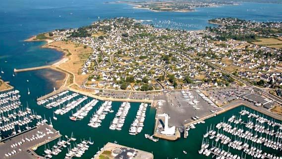 Le port du Crouesty golfe du Morbihan