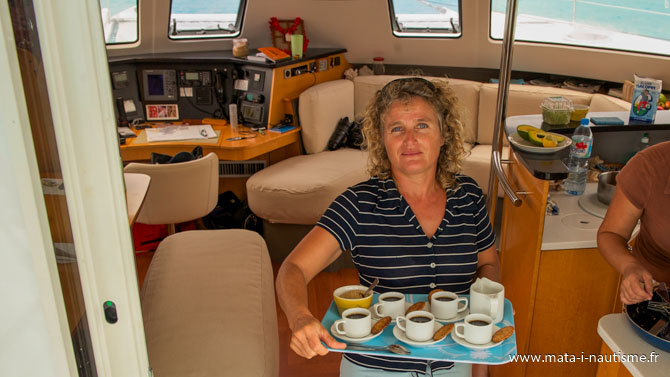 Le métier d'hôtesse de bord