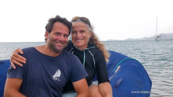 Pat et Isa Tangadiou Nouvelle Calédonie