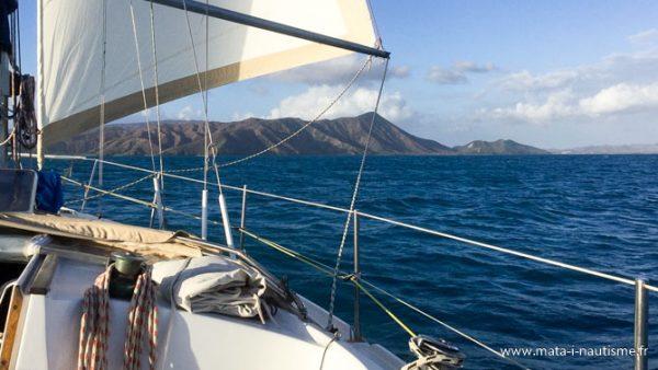 Navigation dans le nord de la Nouvelle Calédonie