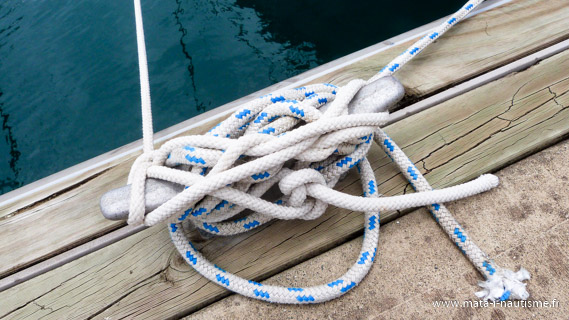 Nœud de marin d'eau douce