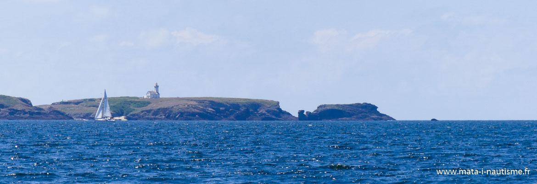 Voilier Pointe des Poulains Belle Ile