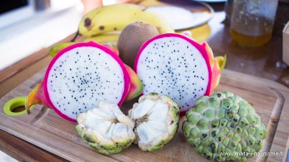 Fruits à bord