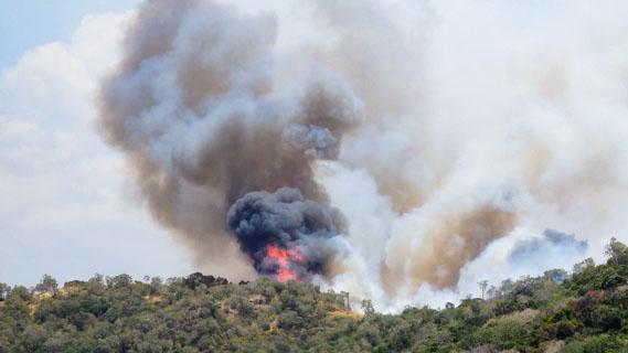 Incendies en Nouvelle Calédonie