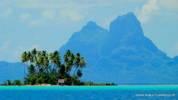 Bora Bora vue de Tahaa