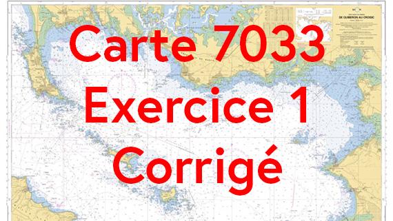 Carte 7033 Exercice 1 corrigé