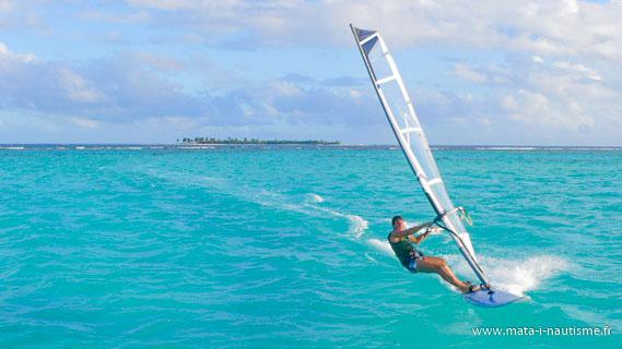 Pat windsurf Tobago Cays