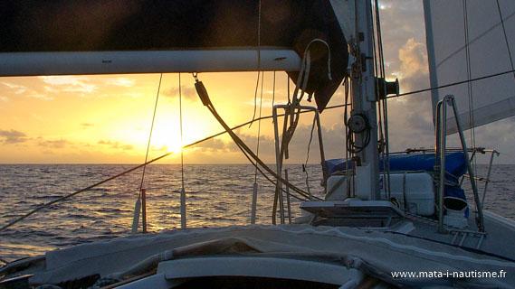 Traversée l'Atlantique en voilier