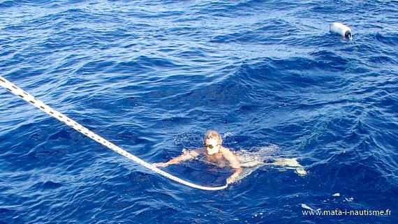 Baignade - Traversée de l'Atlantique à la voile