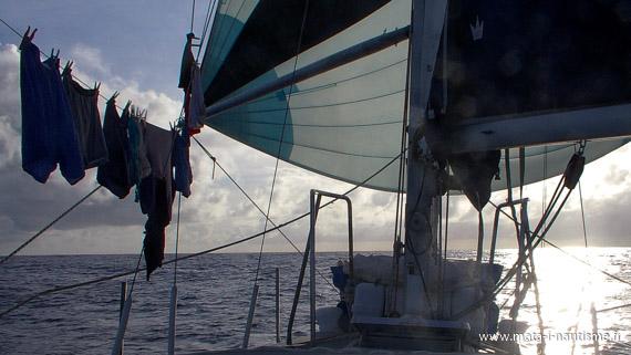 Traversée de l'Atlantique à la voile
