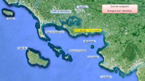 Zone de navigation Bretagne sud 2