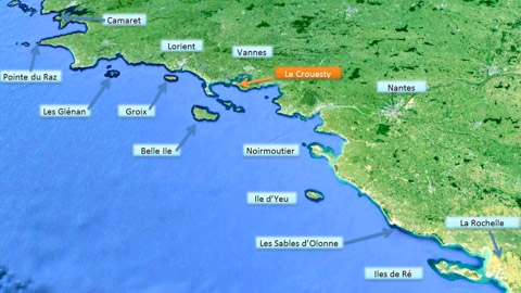 Zone de navigation Bretagne sud 1