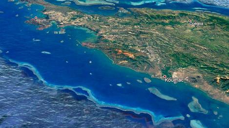 Zone de navigation Nouvelle Calédonie Mata'i Nautisme