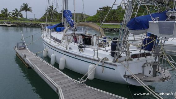 Amarrage cyclonique marina de Koumac