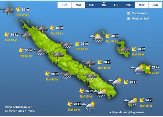 Cyclone OMA en approche