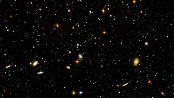 Ciel profond Hubble