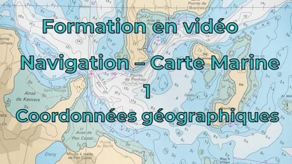 Cours de navigation - 1 - Coordonnées géographiques