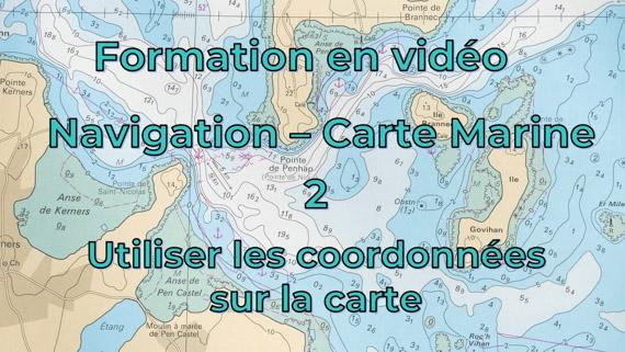 Cours de navigation - 1 - Coordonnées géographiques sur la carte