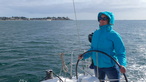 Florence - Stage voile Bretagne